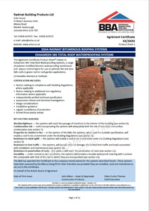 EshaFlex-Green-BBA-Certificate