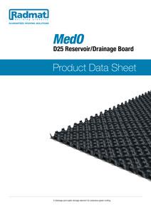 Medo D25_Reservoir Drainage Board