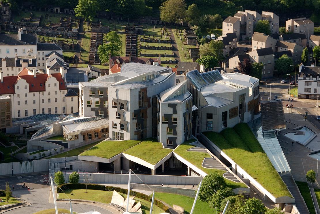 Who Designed The Scottish Parliament Building