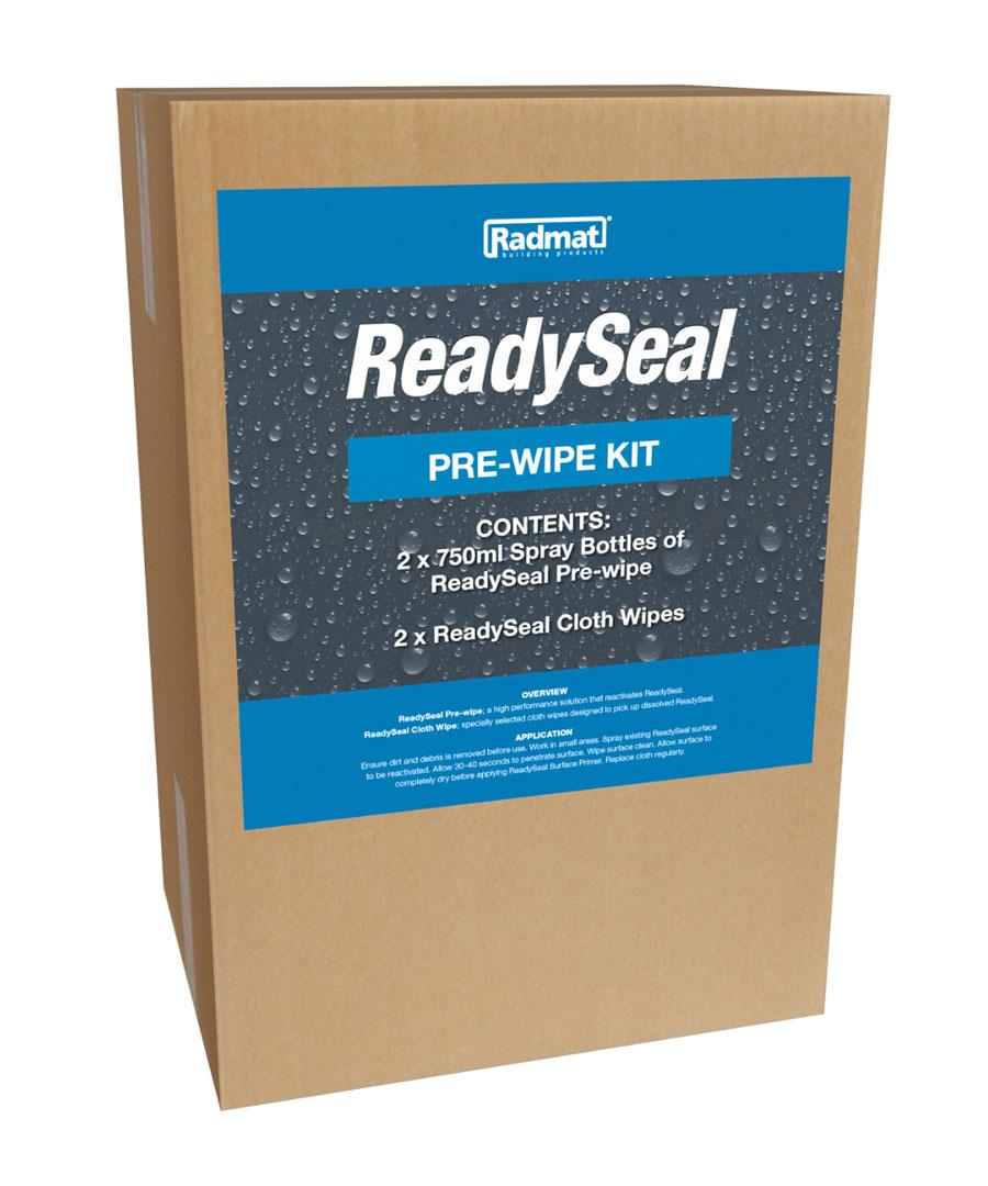 ReadySeal Pre-Wipe Kit